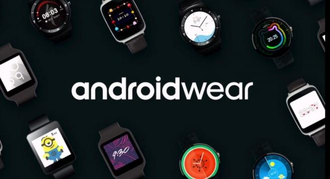 Android Wear final Google I:O