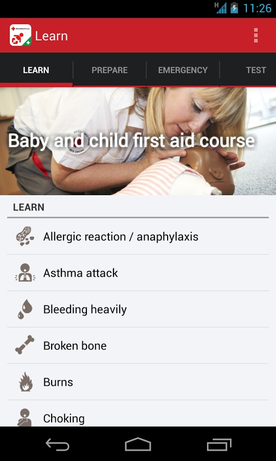 Baby & Child First Aid – 1