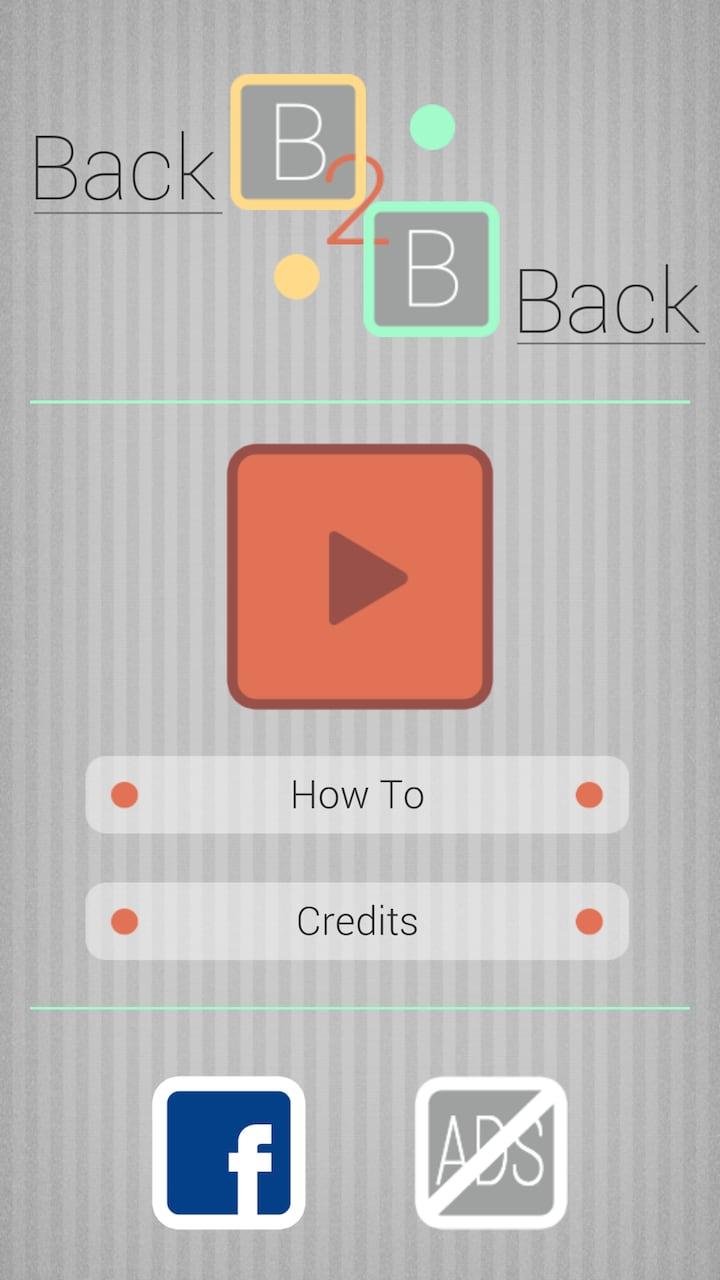 Back to Back – 1