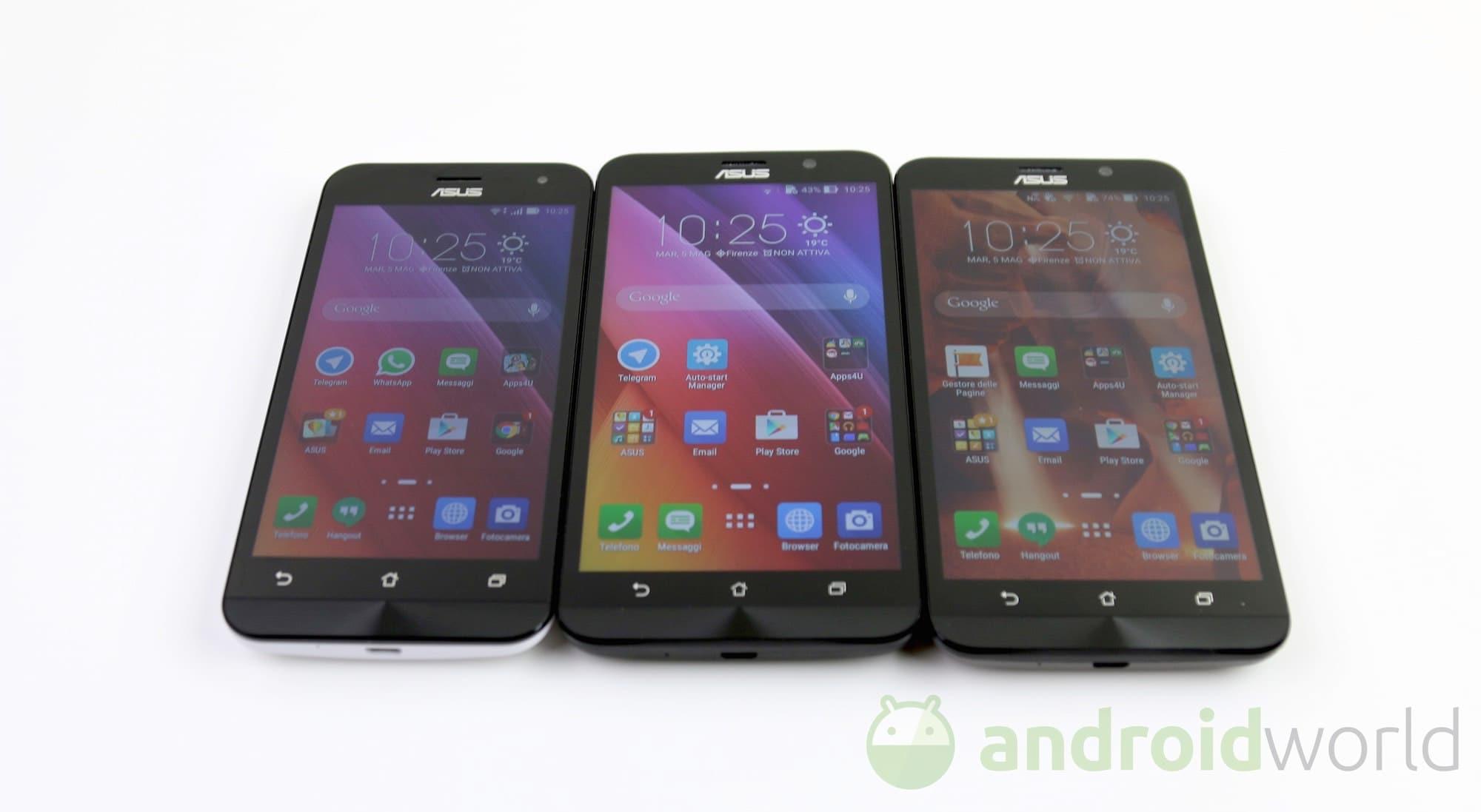 ASUS ZenFone 2 Ricevera Android 511 Prima Di Marshmallow