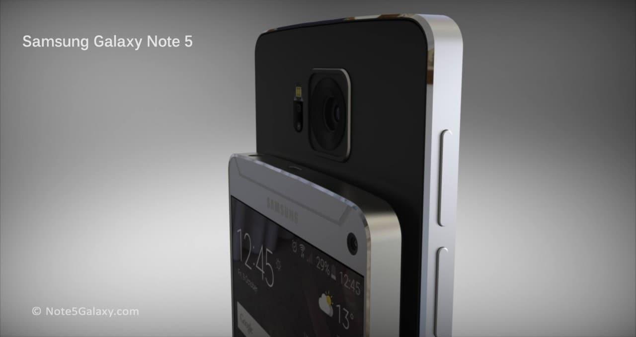 Galaxy Note 5 concept render - 5