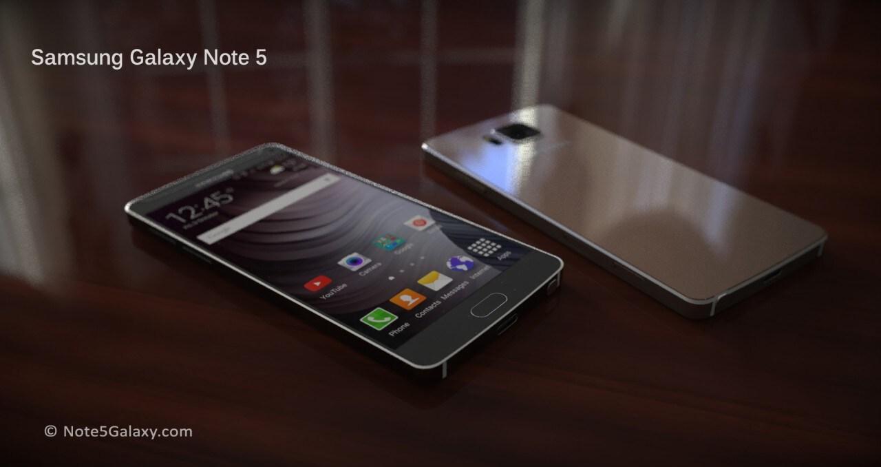 Galaxy Note 5 concept render - 7