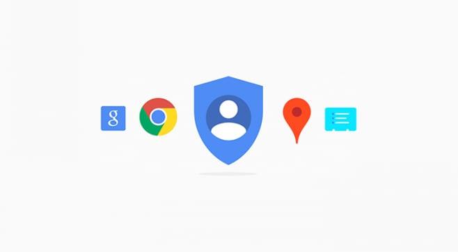 Google My Account redesign - 1