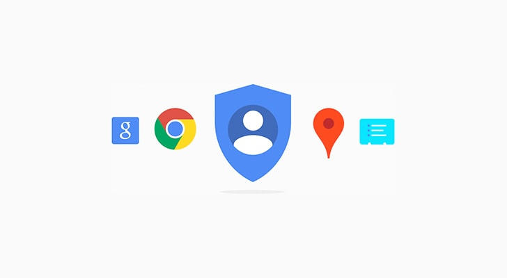 Google My Account redesign - 1