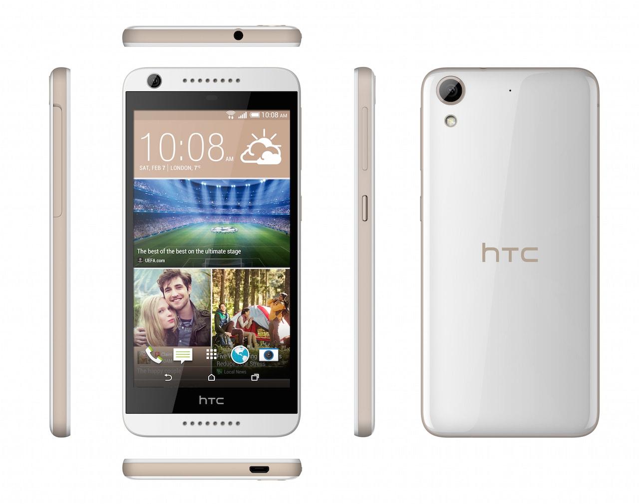 HTC Desire 626G dual sim_WhiteBirch