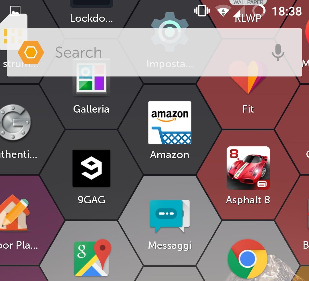 Dal team SwiftKey, un launcher in grado di prevedere l'app che volete utilizzare: Hexy Launcher (foto)