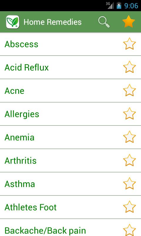 Home remedies – 1