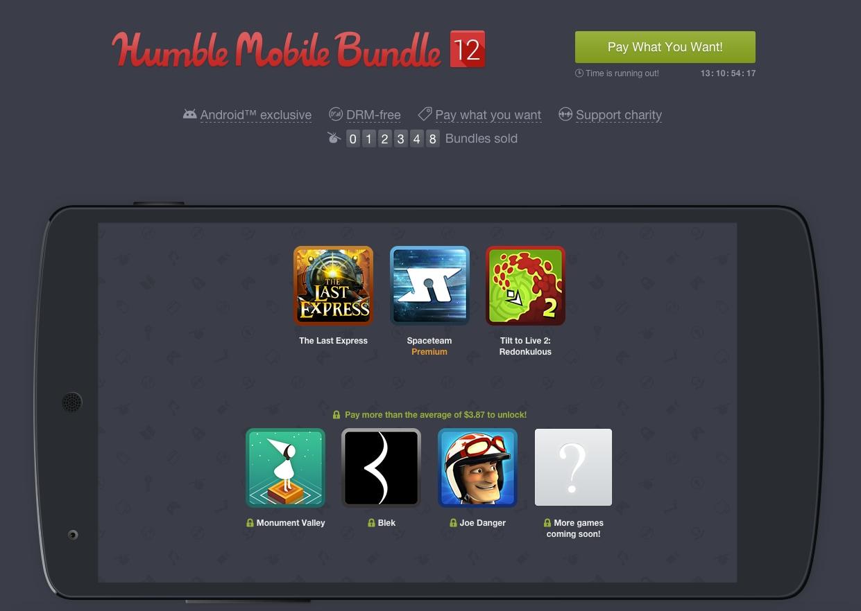 Humble Bundle - Humble Mobile Bundle 12