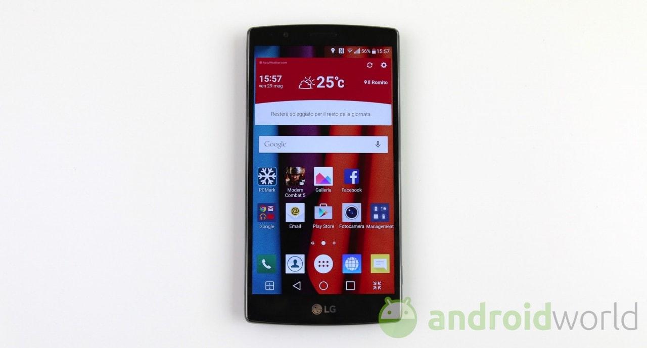 LG G4 riceve le patch di luglio, e poco più