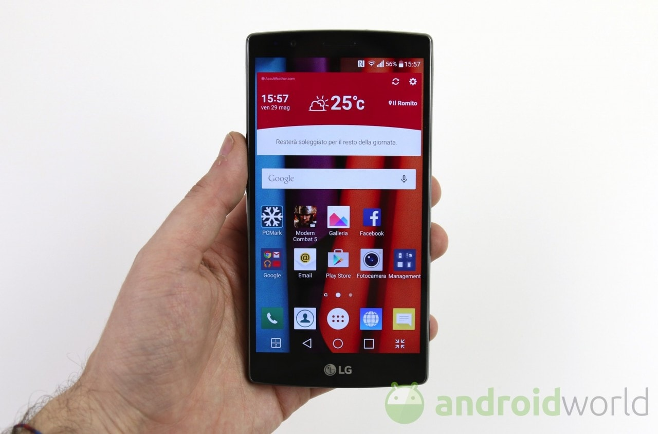 Piccoli problemi al display di LG G4? (foto)