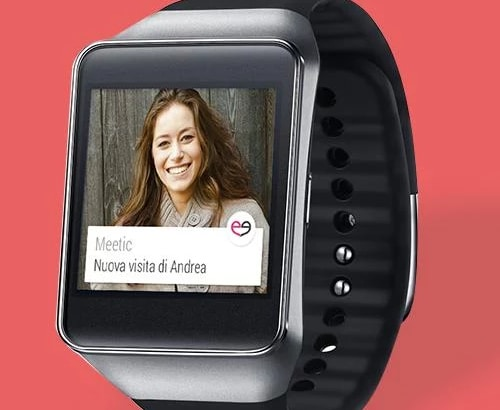 Meetic Android Wear Copertina