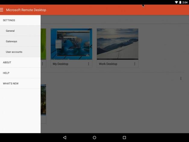 Microsoft Remote Desktop nuova UI - 1