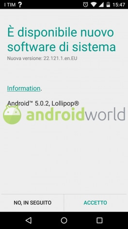 Moto X Android 5.0.2