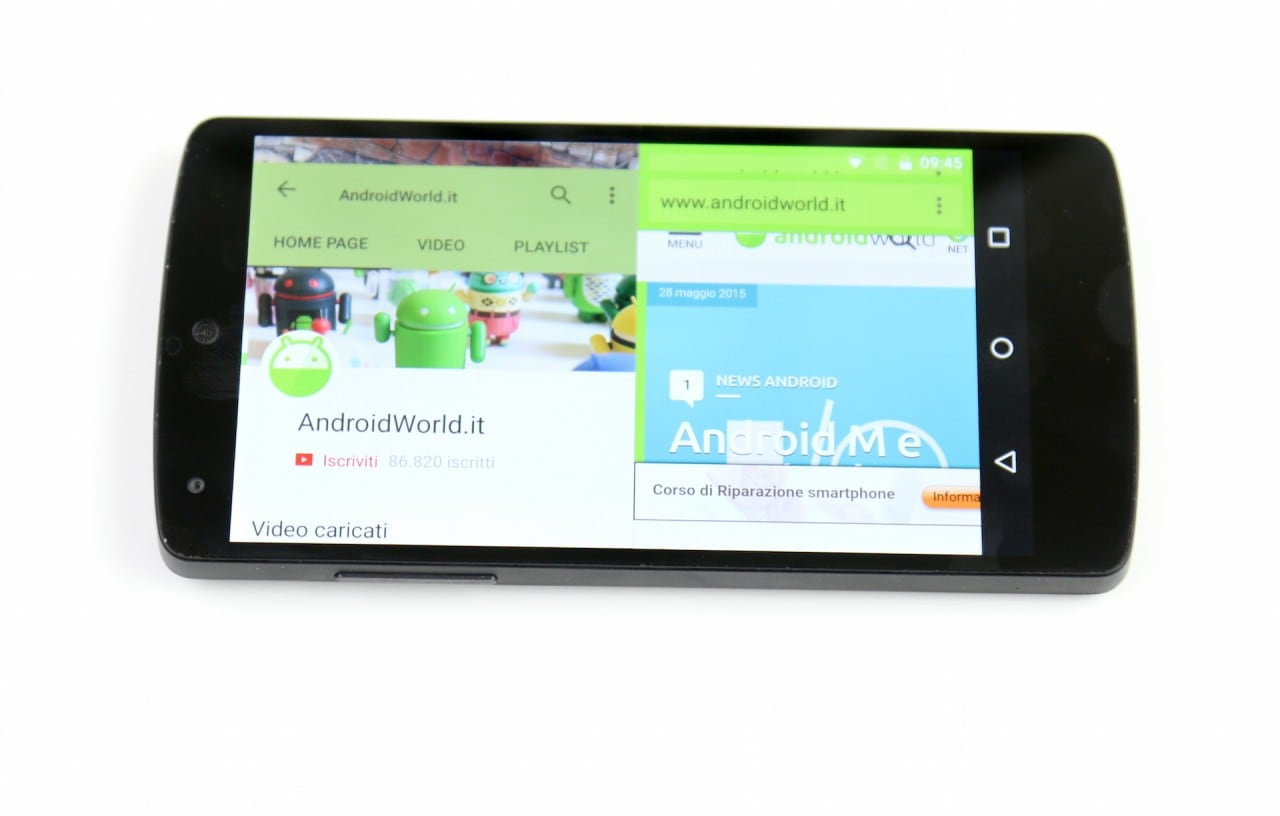 Multi Window Android M