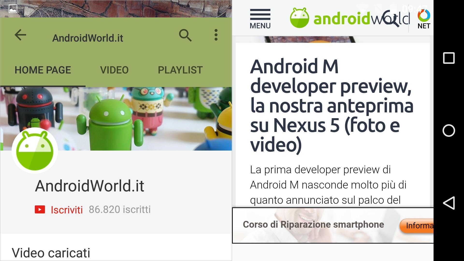 Multi Windows Android M – 2