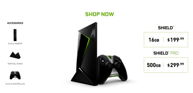 NVIDIA Shield Android TV Prezzi