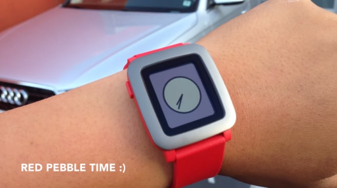 Pebble-time-rosso