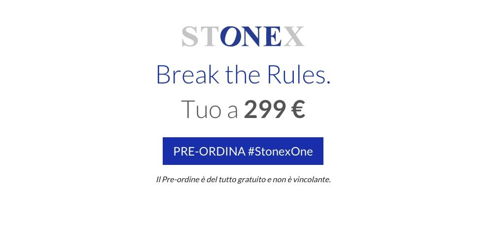 Pre-ordine stonex one