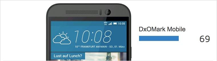 DxOMark HTC One M9