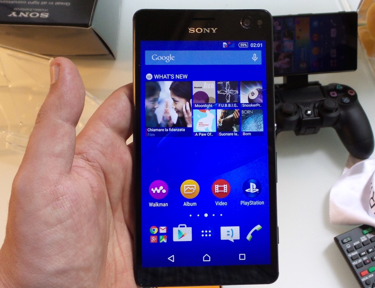 Sony Xperia C4 hands-on - 7