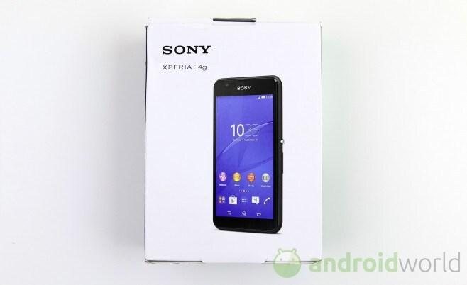 Sony Xperia E4g  - 1