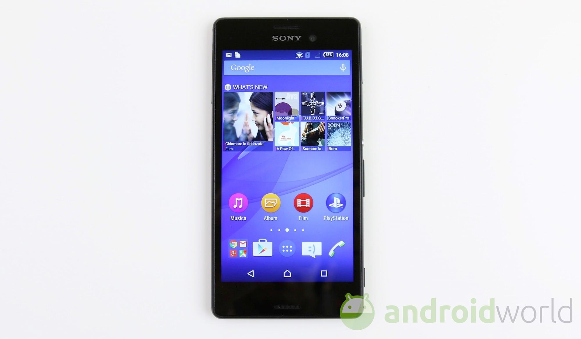 Sony Xperia M4 Aqua  – 2