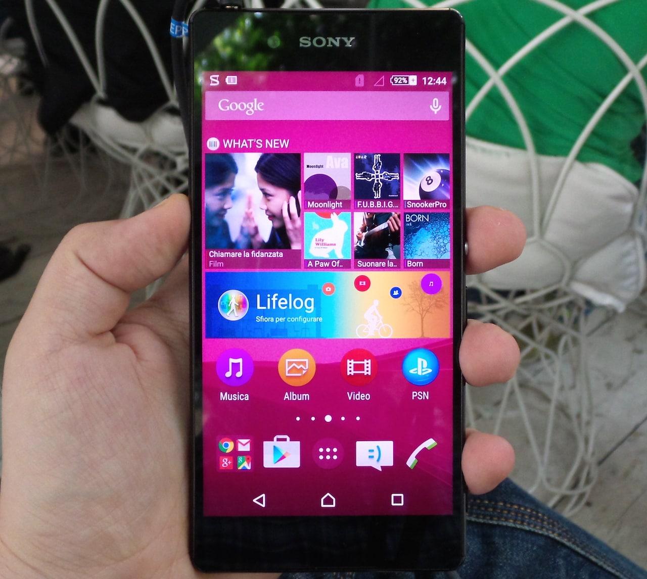 Sony Xperia Z3+ foto – 1
