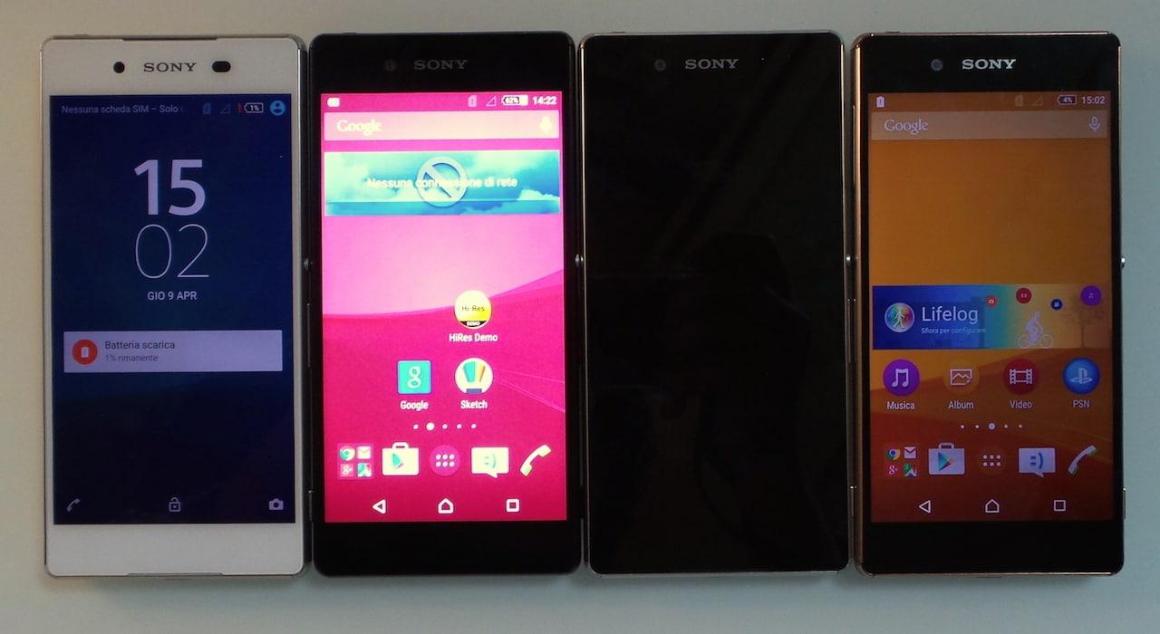 Sony Xperia Z3+ foto – 27