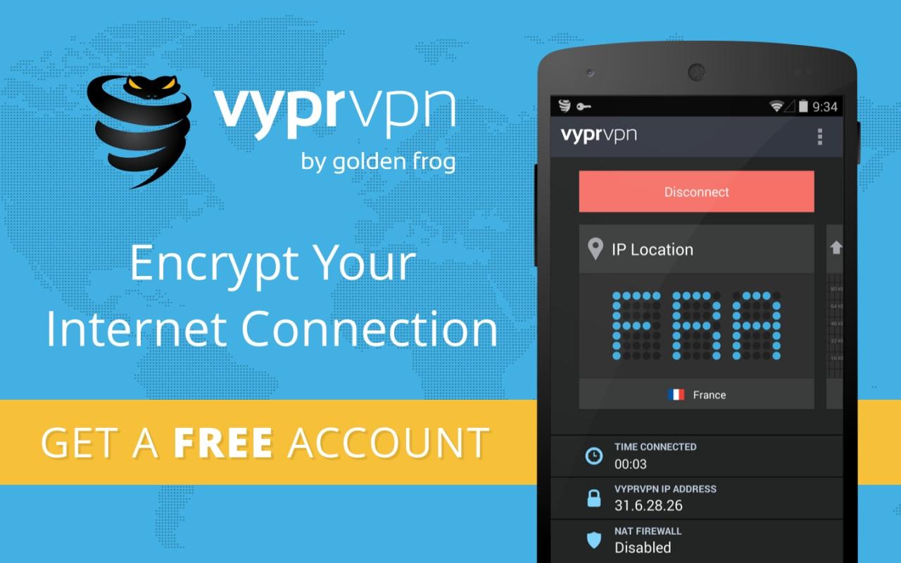 Un servizio di VPN internazionale pratico e gratuito per il vostro smartphone (foto)