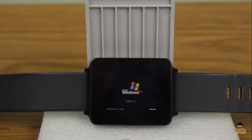 Windows XP al vostro polso con Android Wear, più o meno (video)