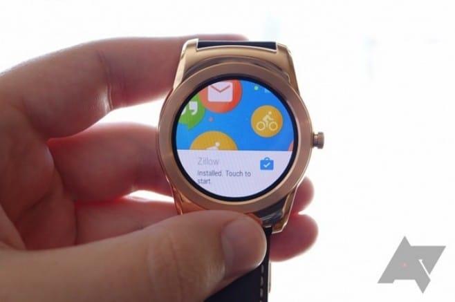 android wear nuova app