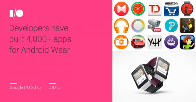 app Android Wear Google IO