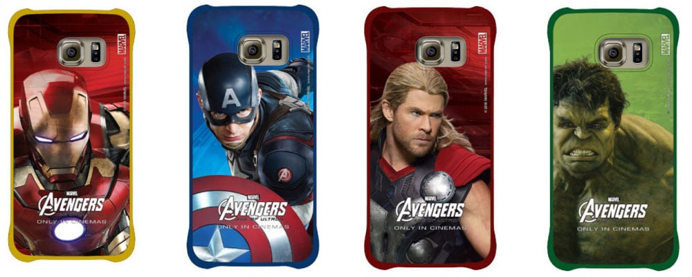 cover galaxy s6 avengers