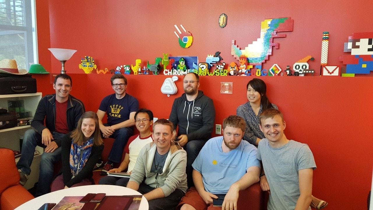 google chrome team