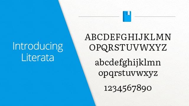 literata font