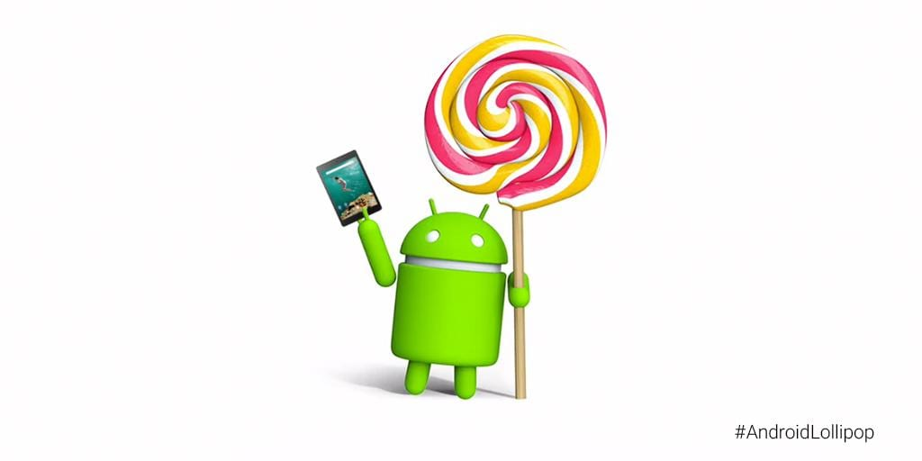 nexus 9 lollipop
