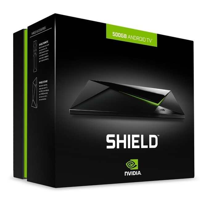 nvidia shield console 500 gb