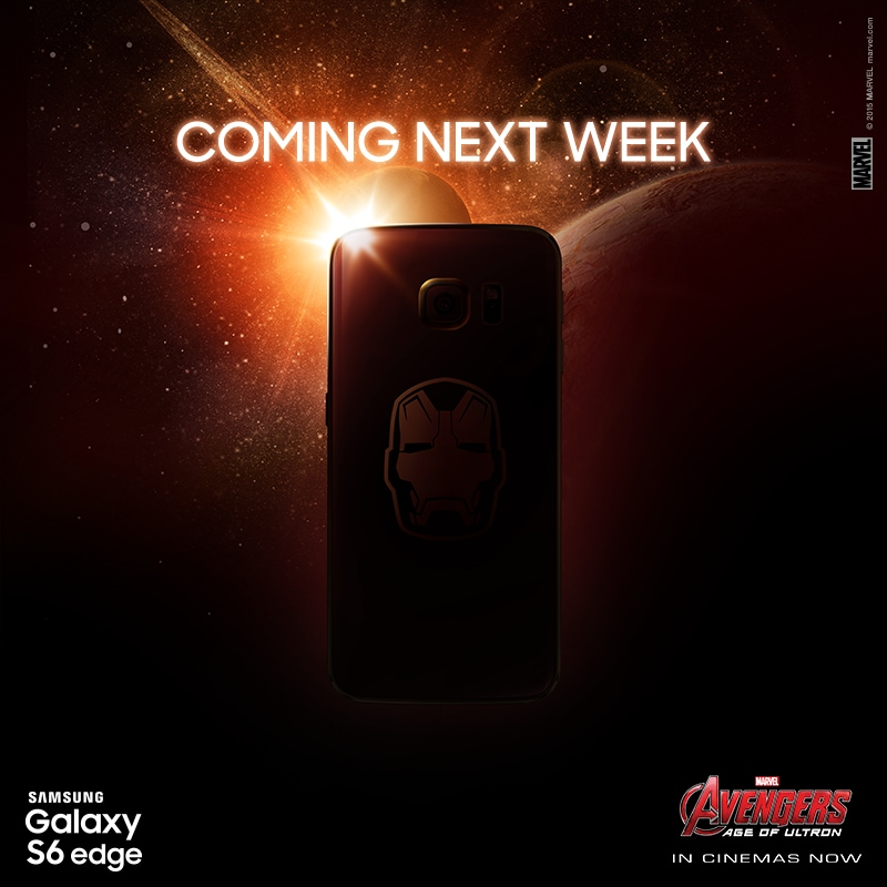 s6 edge iron man