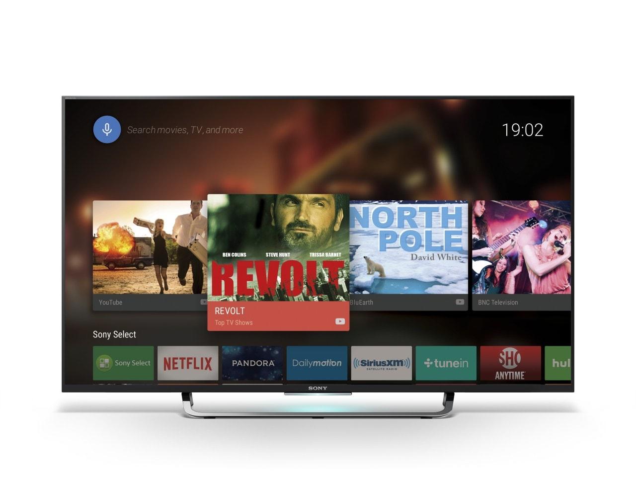 I televisori Sony Android TV 2015 e 2016 si aggiornano col nuovo firmware 3.885