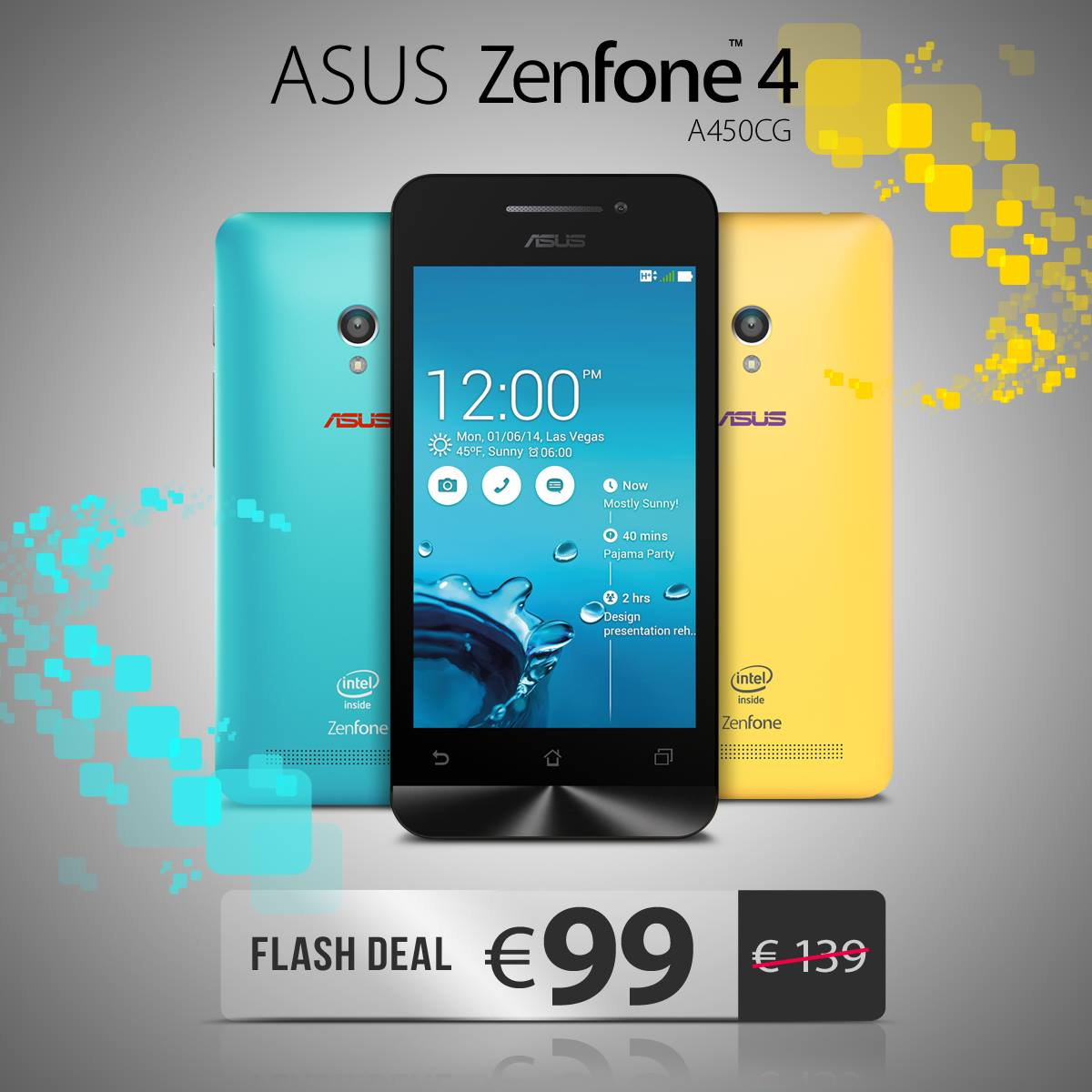 Offerta ASUS su ZenFone 4: a 99€ solo per oggi