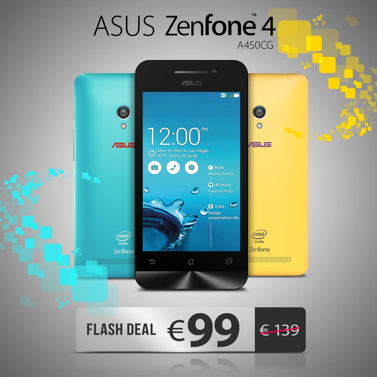 ASUS ZenFone 4 offerta