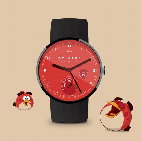 Angry Birds Aviator Watch Face - 4