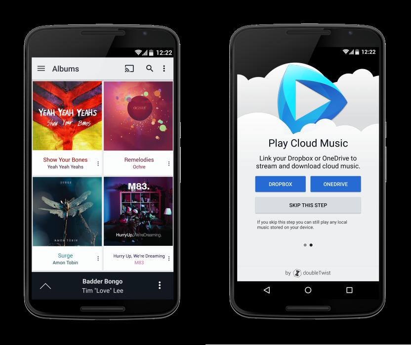 DoubleTwist lancia CloudPlayer, il lettore musicale che trasforma ogni servizio cloud in una piattaforma per lo streaming (foto)