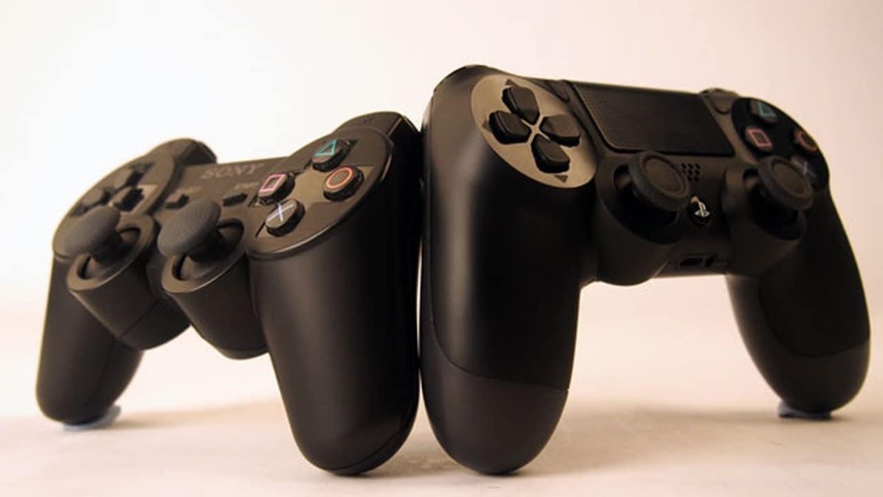 DualShock 3 vs DualShock 4