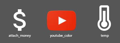 Google - Icone varie
