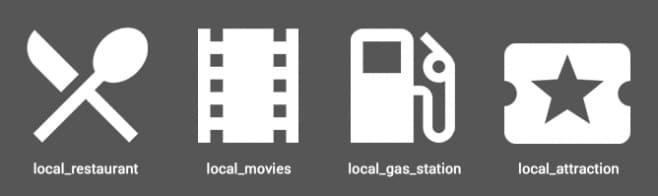 Google - Mappe - Icone 1