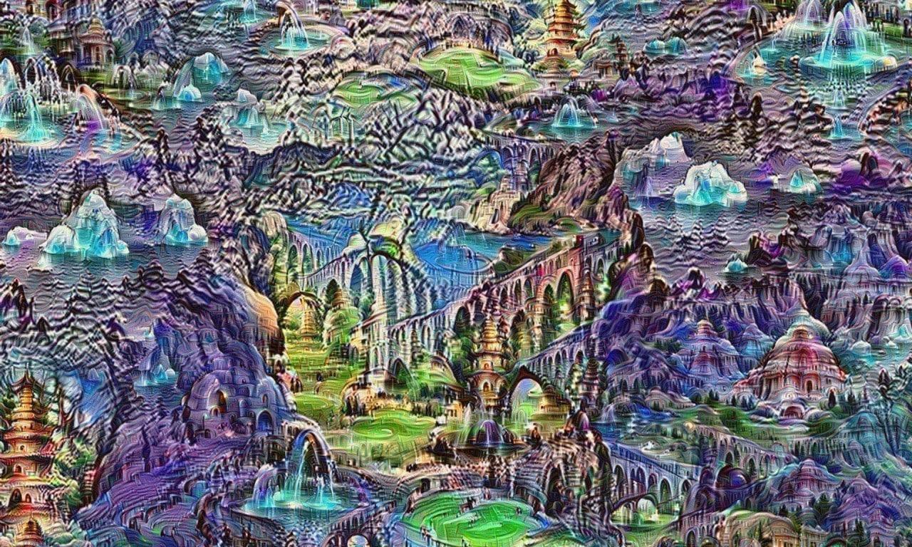 Le psichedeliche immagini create dall'algoritmo di Google (foto)