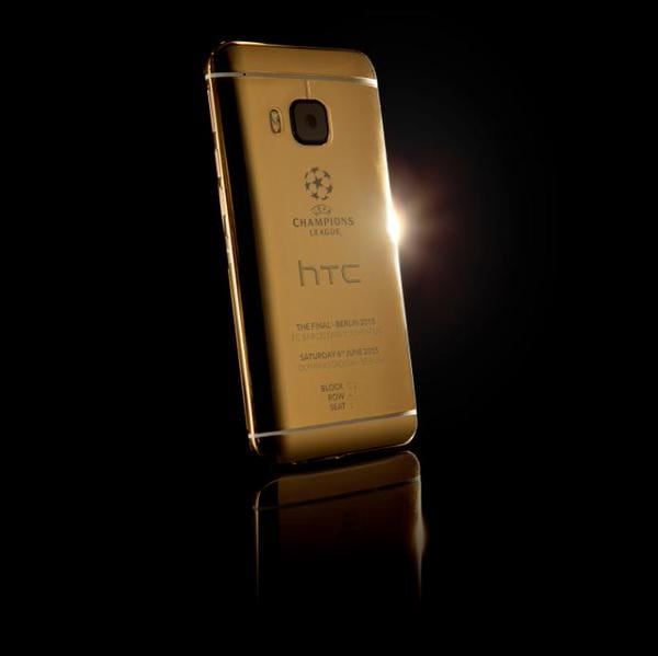 HTC One M9 oro champions league 2