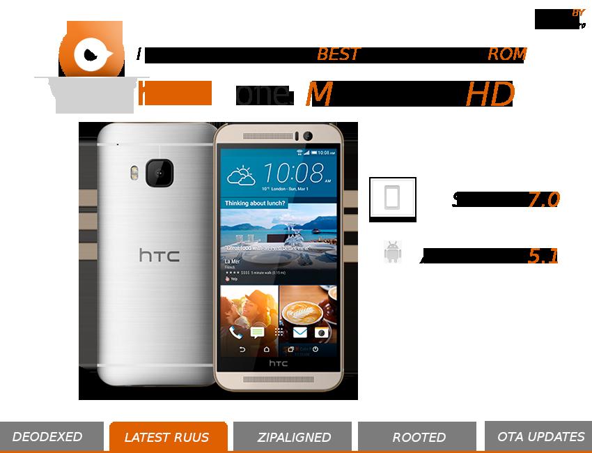 Android 5.1 pronto per HTC One M9 con la MaximusHD 5.0.0