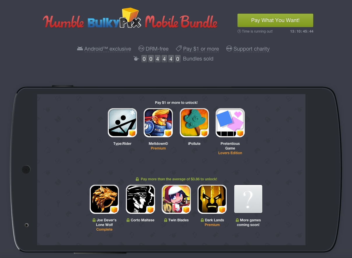 Humble Bulkypix Mobile Bundle